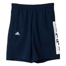 Abbiglimento sportivo da uomo blu marca adidas cotone