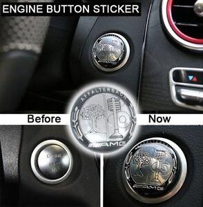 A.MG TREE Emblem Engine Button Sticker Start/Stop Switch Conver Decal Size 3.8cm