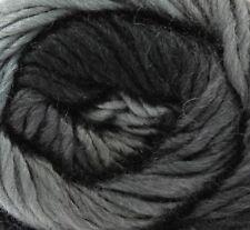 King Cole Riot Chunky Multi Coloured Knitting Yarn - 100g Acrylic Wool Blend Dom