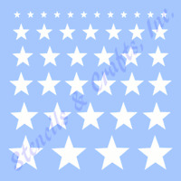 NATIVITY STENCIL STAR STARS TEMPLATE SCRAPBOOK CRAFT ART PAINT NEW BY STENSOURCE