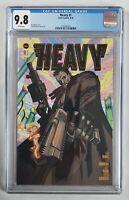 HEAVY #1 -  CGC 9.8 GRADED -  VAULT COMIC BOOKS 2020