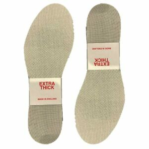 Extra Thick Comfort Shoe Trainer Insoles size 3-12 ready cut Mens Ladies Comfy