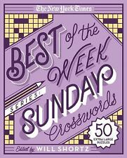 The New York Times Crossword Puzzles: The New York Times Best of the Week...