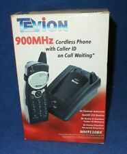 Tevion Cordless Telephone w/ Caller ID & Call Waiting 900MHZ MH9110BK New