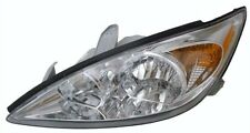 2002 - 2004 TOYOTA CAMRY LE/XLE HEADLIGHT HEAD LAMP W/CHROME LEFT DRIVER SIDE