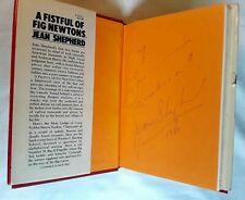 1981 Jean Shepherd Autographed & Inscribed A Fistful Of Fig Newtons 1st Ed Book