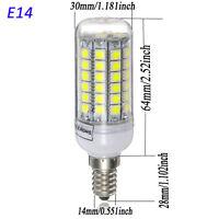 F12 E14 69 SMD 5050 LED 800LM Energy Saving Corn Light Bulb White Lamp w 220V