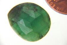 BUTW  Natural Brazilian Emerald Macro faceted Cabochon Gemstone  Lapidary 4995P