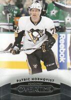 2015-16 Upper Deck Overtime Hockey #152 Patric Hornqvist Pittsburgh Penguins