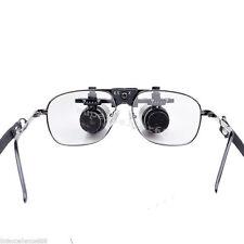 Dental Loupes dentist 6.5X Medical surgical Glasses lens Magnifier 300-500mm top