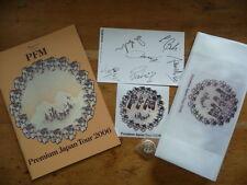 PFM:2006 Japan Tour Book+Sticker+Badge+Bag+Autograph Card (elp no cd not mini-lp