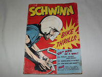 VINTAGE 1950S  SCHWINN BICYCLE BIKE THRILLS MAGAZINE