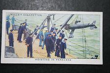 HMS Nelson   Paravane   Royal Navy Battleship  1930's Vintage Card