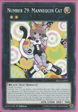 3x Yugioh RIRA-EN093 Number 29: Mannequin Cat Common Near Mint 1st Edition