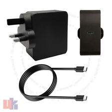 65 W USB-C Adaptateur Chargeur Compatible Lenovo 01FR028 avec UK Plug uked