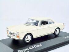 Peugeot 404 coupé 1962-1968 Crème/MINICHAMPS 1:43