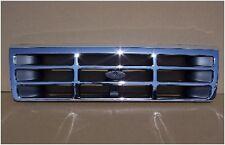 92 96 Ford Truck & Bronco Chrome Grill F150 F250 F350 F450 OEM Type FO1200173