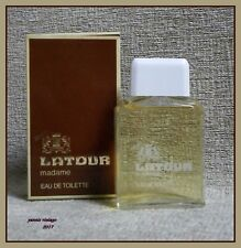 """ LATOUR madame "" NIB Eau De Toilette 60 ml Splash VINTAGE 1981"