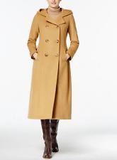 Anne Klein Petite Hooded Maxi Walker Wool-Cashmere Blend 8