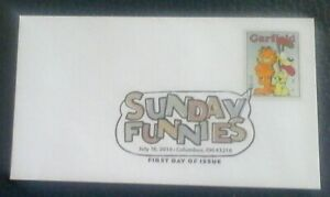 First day of issue, 2010 Honoring Sunday Funnies Series, Garfield # 4470
