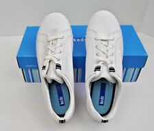 KEDS WOMENS SHOES  US SIZE 8.5 MEDIUM  MICRO STRETCH FAUX ASHLYN WHITE WITH BOX