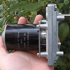 DC 12-24V High Torque Reduction Gear Motor Hand-crank Wind Turbine Generator
