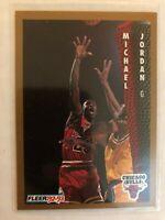 Michael Jordan 1992-93 Fleer #32 Chicago Bulls
