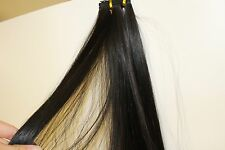 "18"" Synthetic Dream Fiber Hair Weft Extensions - Very Dark Brown"