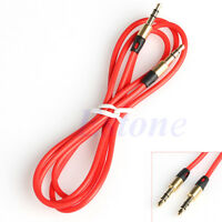 Male to Male 3.5mm AUX Cord Stereo Audio Extension Cable For iPhone iPod MP3 CAR