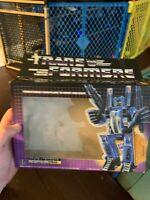 1985 Vintage Hasbro Transformers G1 Dirge EMPTY BOX Only NO FIGURE Rare