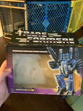 1985 Vintage Hasbro Transformers G1 Dirge EMPTY BOX Only NO FIGURE Rare