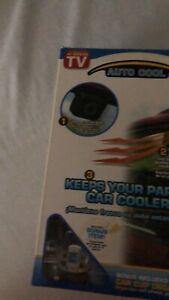 Auto Cool Solar Powered Ventilation System TV Bonus Car Cup Organize Hot AIR OUT