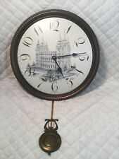 "Howard Miller Salt Lake Temple Clock 15"" Round Model 620-457"