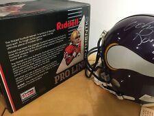 John Randle (Vikings) NFL Full Sized Autographed Riddell Football Helmet