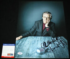 Frankie Valli signed 11 x 14, Big Girls Don't Cry, Four Seasons, Greese, PSA/DNA