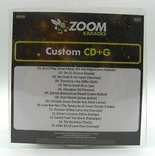 More details for zoom karaoke cd+g disc - pop chart picks 2021 (part 1) - 15 big pop hits!