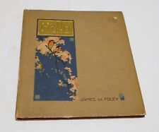 HELLO HC/1915 James W. Foley P. F. Folland Company Poetry Books - R