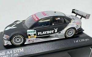 Minichamps Audi A4 DTM #16 2007 Team Phoenix Christian Abt Playboy 1/43 <z07>