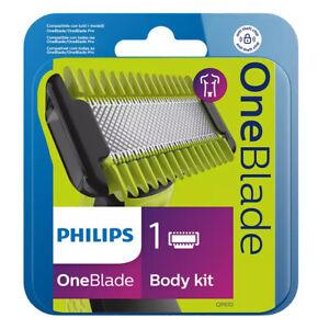 Philips QP610/50 OneBlade Ersatz Klingen Set für Körper - One Blade Body Kit