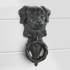 Cast Iron Dogs Head Door Knocker