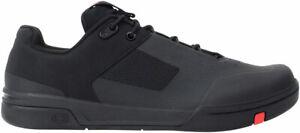 Crank Brothers Stamp Lace Men's Flat Shoe - Black/Red/Black, Size 11.5