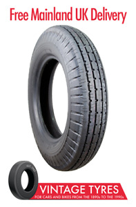 Ensign Fort F4 600/650-17 - Rolls Royce Silver Wraith tyre - 6.00-17 6.50-17