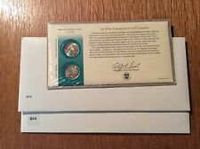 1999 Georgia Ga Q13 and Connecticut Ct Q14 1st day Coin Covers