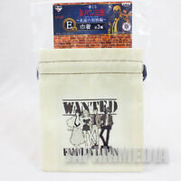 Lupin the Third 3rd Drawstring pouch Jigen Goemon Fujiko Banpresto JAPAN ANIME