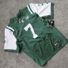 Nwt New Nike Onfield Ny Jets #7 Smith Jersey Men Xl 48 Stitched Green Home Away
