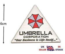 Resident Evil Umbrella Corporation Metal 3D Car Badge Emblem Sticker Decal UK