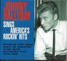 CD DIGIPACK 12T JOHNNY HALLYDAY SINGS AMERICA'S ROCKIN' HITS 2015 NEUF SCELLE
