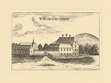 Walkersdorf am Kamp Wolckherstorff Vischer Österreich Burgen und Schlösser 450