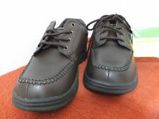 BRAND  NEW MEN'S DR. SCHOLL'S  BROWN CASUAL SHOES with LACES....WIDE