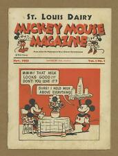 Mickey Mouse Magazine Vol. 1 2nd Giveaway Series #Vol. 1 #1 GD/VG 3.0 1933